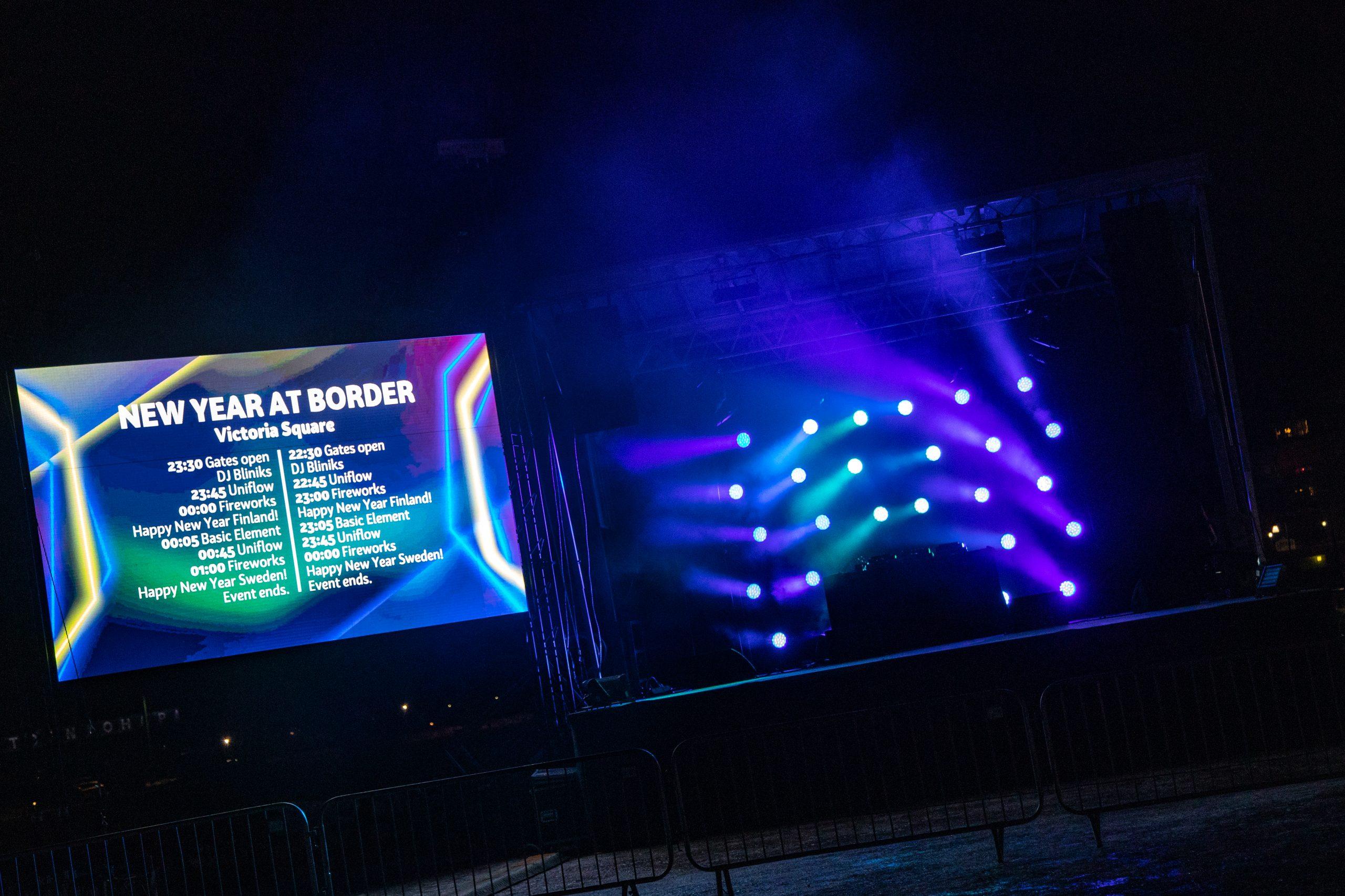 LED-Screen tiedotuskäytössä